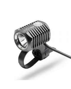 ON THE ROAD MX3-BL Bicycle Light Front Rechargeable Set LED Bike Lamp USB Support 18650 Battery