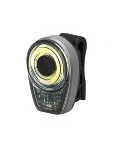 3 Color COB LED Bike Rear Light USB Rechargeable Round Cycling Safety Light Bicycle Accessories