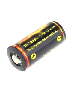 Quality TrustFire TF 32650 3.7V 6000mAh Protected Li-ion Battery-(1 piece )