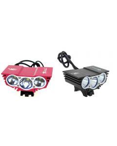SolarStorm X3 3xCree XM-L U2 4-Modes 2500-lumen Bicycle Light