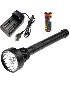 OEM TrustFire 18T6 18000-Lumen Cree XM-L T6 5-Modes LED Flashlight +4*TrustFire TF 26650 battery +Charger