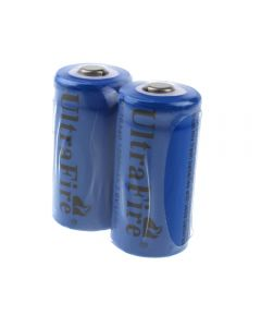 UltraFire ST 16340 1200mAh 3.6V Rechargeable Li-ion Battery(2-Pack)